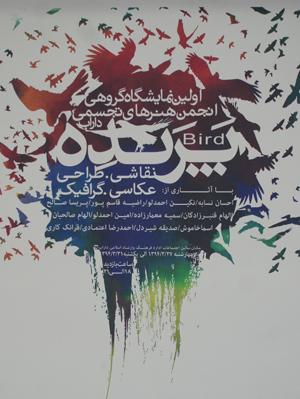 اولین نمایشگاه هنرهای تجسمی داراب برگزار شد