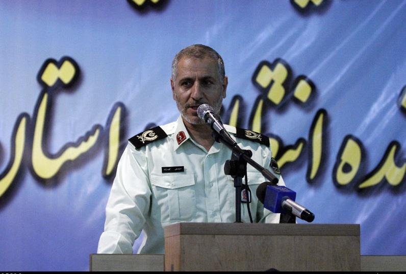 گودرزي عنوان كرد: دستگيري آخرين شرور استان فارس/ كشف بيش از ۱۰ تن مواد مخدر طي ۴ ماه