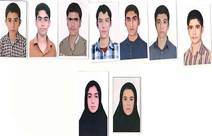 نفرات برتر کنکور سراسری ۹۴ شهرستان داراب با  رتبه کمتر از ۱۰۰۰  معرفی شدند
