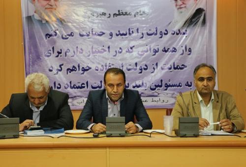 تکلیف اعتبارات ۲ درصد نفت و گاز در کمیته برنامه ریزی شهرستان داراب  مشخص شد