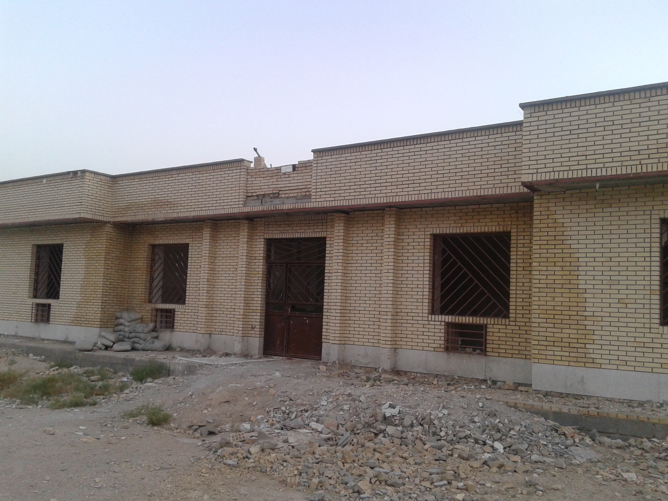 معصومی عضو شورای اسلامی روستای مرز: درمانگاه روستای مرز نیمه تمام رها شده