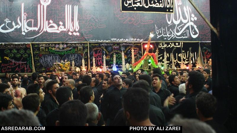 گزارش تصویری عزاداری محرم در  برخی مناطق شهرستان داراب