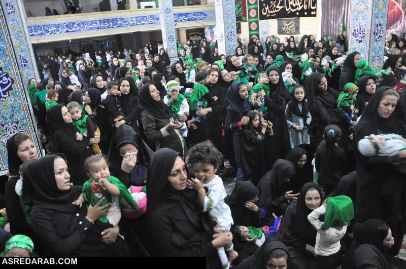 جذب ۶۳ حامی  برای حمایت از ایتام در مراسم شیرخوارگان حسینی
