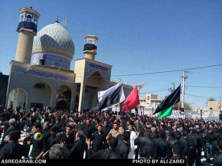 گزارش تصویری برگزاری مراسم عاشورای حسینی در داراب