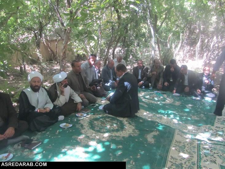 اولین پایگاه گردشگری شهرستان داراب  در روستای نوایگان افتتاح شد