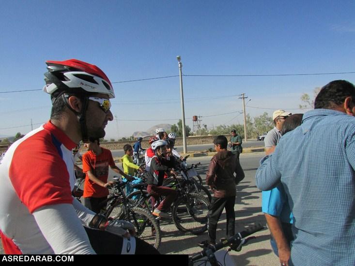 دومین مرحله  مسابقات لیگ  دوچرخه سواری کوهستان داراب برگزار شد