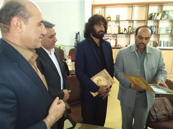 رضا نیکفرجام رئیس اداره فرهنگ و ارشاد نی ریز شد