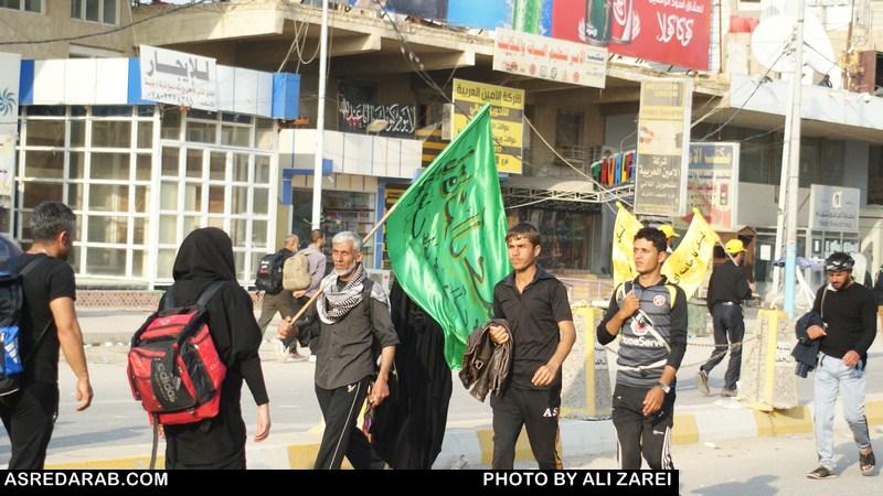روایت تصویری حضور در راهپیمایی عظیم اربعین حسینی(بخش اول)