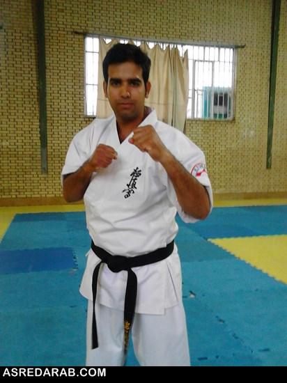 دعوت از کاراته کار دارابی برای داوری در مسابقات بین المللی کاراته تهران