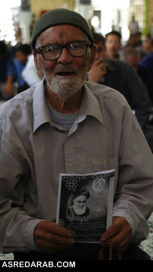 مراسم بیست و هفتمین سالگرد عروج عارفانه حضرت امام خمینی(ره) در داراب برگزار شد