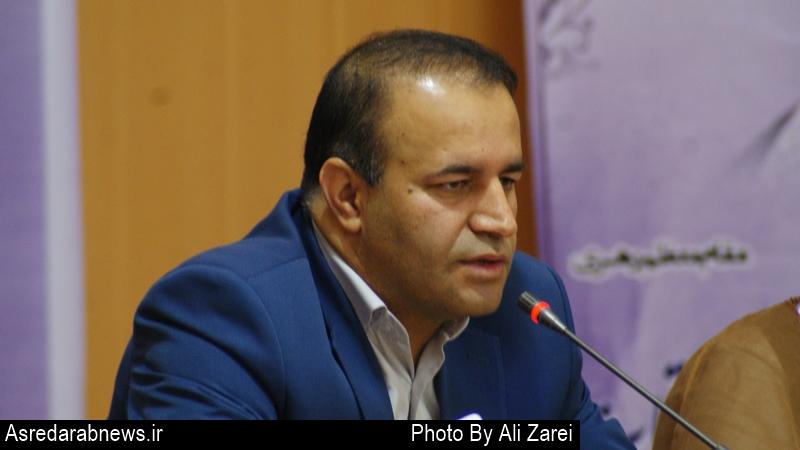 قاسمپور فرماندار داراب:  بيشترين سهم اعتبارات استاني  به  داراب  اختصاص یافت