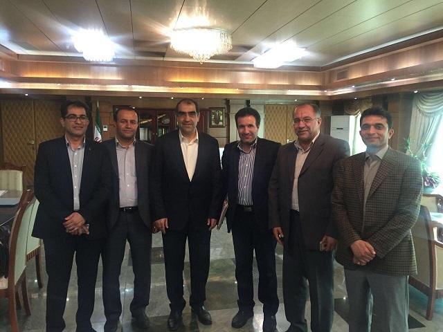 بررسی مشکلات بهداشت و درمان داراب با حضور وزیر بهداشت