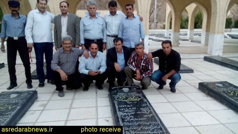 تجدید میثاق جمعی  آزادگان با آزاده شهید عبدالمهدی نیکمنش بدون حضور مسوولین/ گزارش تصویری