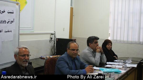 فیروزی رئیس آموزش و پرورش داراب: عامل اصلی عقب افتادگی داراب اختلافات درونی و سیاسی است/ آغاز سال تحصیلی با ۳۲ هزار دانش آموز