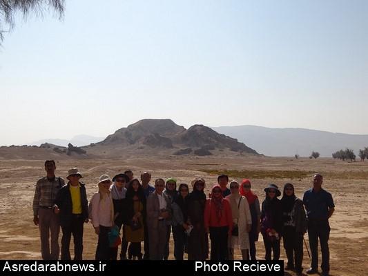 حضور گردشگران تایلندی در شهرستان داراب