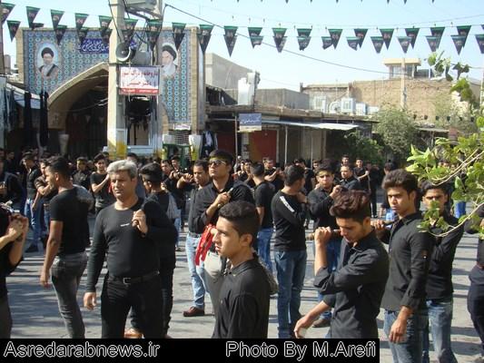 عزاداری مردم داراب در تاسوعای حسینی/گزارش تصویری۲