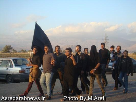 همایش  پیاده روی لبیک یا حسن در داراب برگزار شد