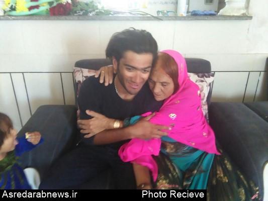 وقتی ۲۱ سال فراق هنرمند و بدل کار سینمای ایران به پایان می رسد/ جوذری بدل کار سینمای ایران با دوچرخه به دیدار مادرش آمد