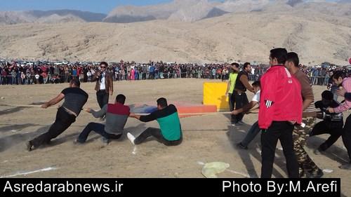 جشنواره ورزشهای همگانی و ورزشهای سنتی بومی محلی در شهرستان داراب برگزار شد