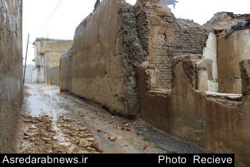 یک روز پس از باران در داراب/ گزارش تصویری