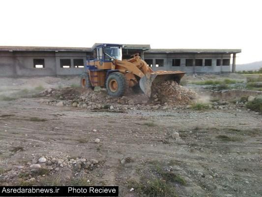 عملیات اجرایی ساخت پروژه مرکز درمانی ۱۰ تختخوابی فورگ آغاز شد