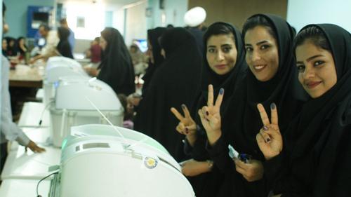 گزارش تصویری برگزاری انتخابات ریاست جمهوری دوازدهم در داراب