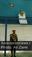 مراسم بیست و هشتمین سالگرد ارتحال امام خمینی(ره) در داراب برگزار شد/ گزارش تصویری