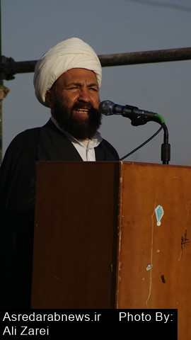 حجه الاسلام صادقی در آیین عبادی سیاسی مطرح کرد: فشار حداکثری دشمن و اذناب داخلی آنها برای کاهش حضور مردم در انتخابات است
