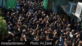 گزارش تصویری تاسوعای حسینی در داراب