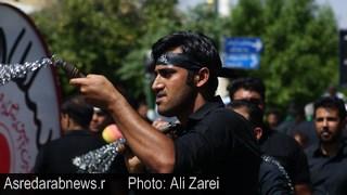 گزارش تصویری مراسم عزاداری مردم داراب در روز عاشورا