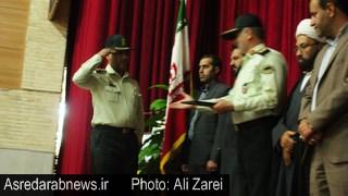 فرمانده جدید منطقه انتظامی داراب معرفی شد/ سردار گودرزی:استان فارس با ۹۹ درصد بالاترین احساس امنیت را در کشور دارد