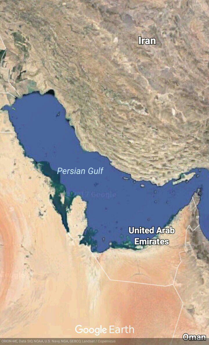 دلایل جغرافیایی نام گذاری خلیج فارس بر خلیج جنوب ایران