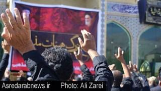 تجمع بزرگ هیئات مذهبی شهرستان داراب به مناسبت اربعین حسینی