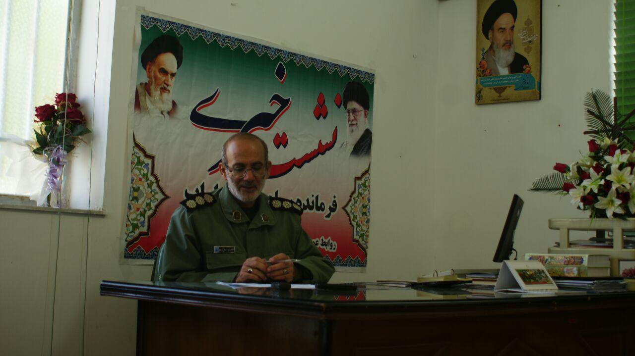 فرمانده سپاه ناحیه داراب خبر داد: ۱۹۵ برنامه در هفته بسیج در داراب برگزار می شود