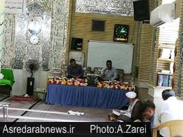 جزء خوانی قرآن کریم در ماه مبارک رمضان در مساجد داراب