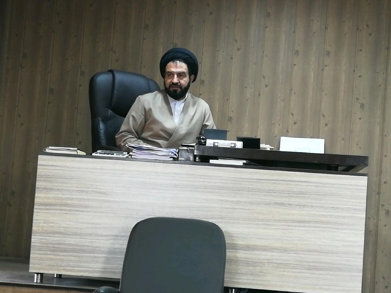 موسوی رئیس دادگستری داراب از کاهش ۵هزار پرونده ورودی به دادگستری داراب خبر داد/  آنجایی که پای نظام در میان باشد و کسی بخواهد کوچکترین آسیبی به نظام وارد نماید هیچگونه تعارف و مماشاتی نخواهیم کرد