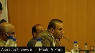 قاسمپور فرماندار سابق داراب: امروز ؛ فضای داراب برای کار و تلاش و سرمایه گذاری بسیار امن و آرام است