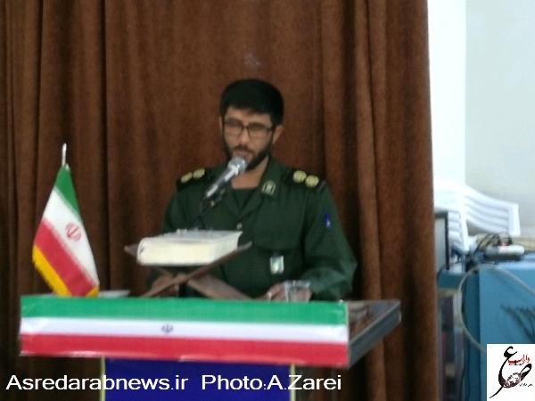 فرمانده سپاه ناحیه داراب:  ۲۶۵ برنامه در هفته بسیج سال ۹۷ اجرا می شود