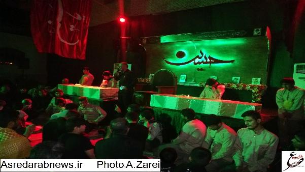 تشییع دو شهید گمنام در داراب و فدامی