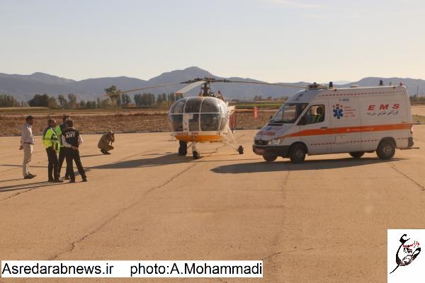 فرماندار داراب: با استقرار یک فروند بالگرد، اورژانس هوایی شهرستان داراب راه اندازی می شود