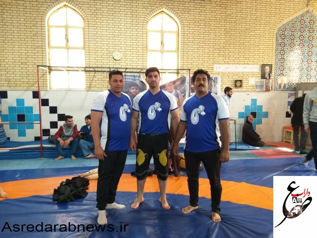 افتخار آفرینی ورزشکاران دارابی در مسابقات زورخانه ای استان فارس