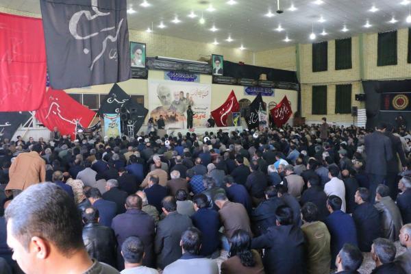 مراسم بزرگداشت سردار شهید سپهبد حاج قاسم سلیمانی در داراب برگزار شد