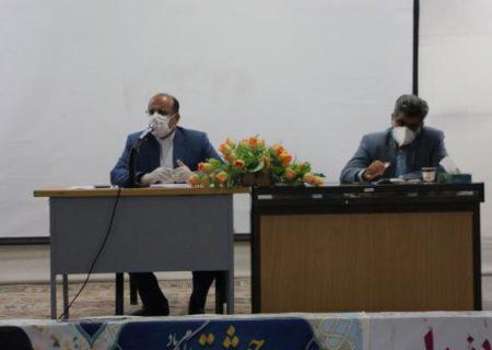 فرماندار ویژه داراب در جلسه شورای آموزش و پرورش :  استاندارد سازی فضاهای آموزشی اولویت اصلی امسال است