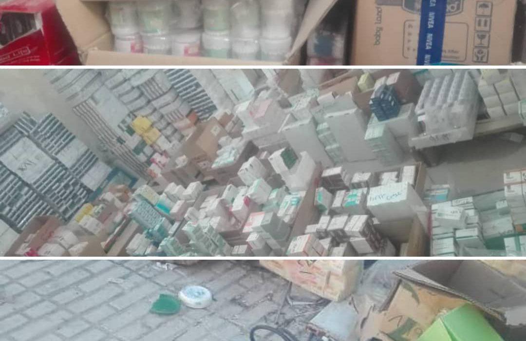 انبار دارو و لوازم بهداشتی به ارزش ۵۰ میلیارد در داراب کشف شد