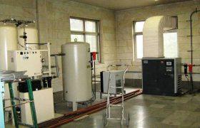 تجهیز بیمارستان امام حسن مجتبی(ع) داراب به دستگاه  اکسیژن ساز  به ظرفیت ۶۰۰ لیتر مجهز شد