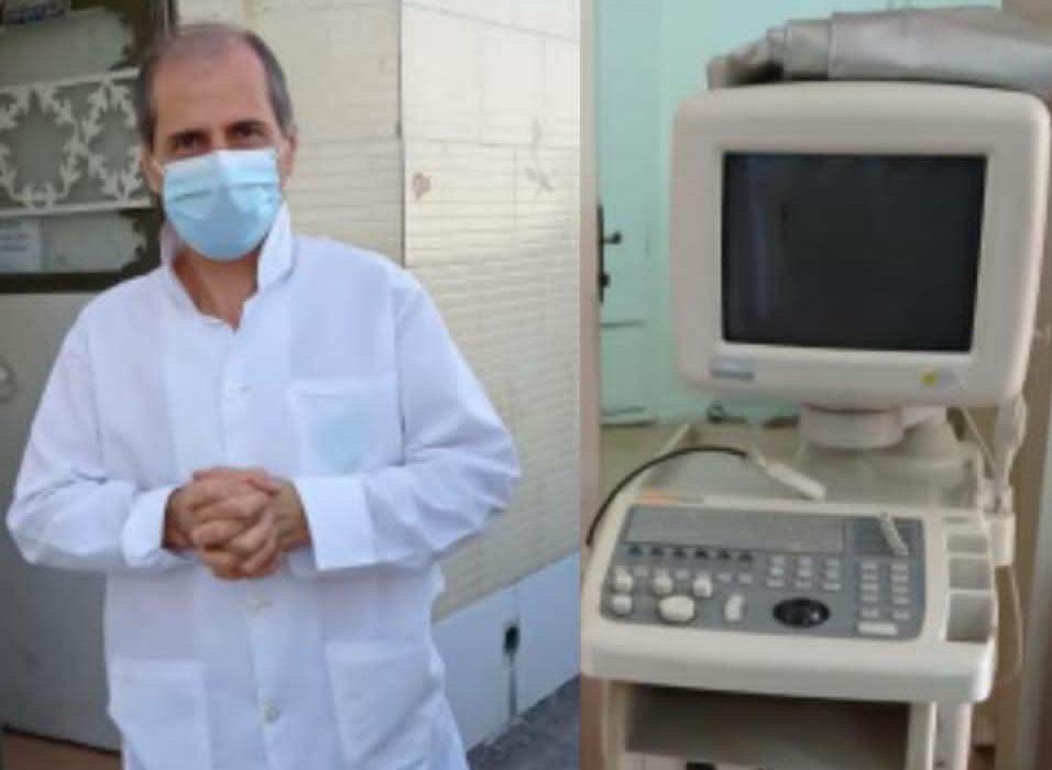 """اهدا یک دستگاه """"سونوگرافی"""" با مشارکت پزشک متخصص نیک اندیش"""