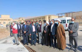 با حضور دبیرکل جمعیت هلال احمر کشور، انبار امدادی هلال احمر شهرستان داراب افتتاح شد