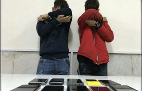 سارق مغازه های موبایل فروشی فورگ دستگیر شد
