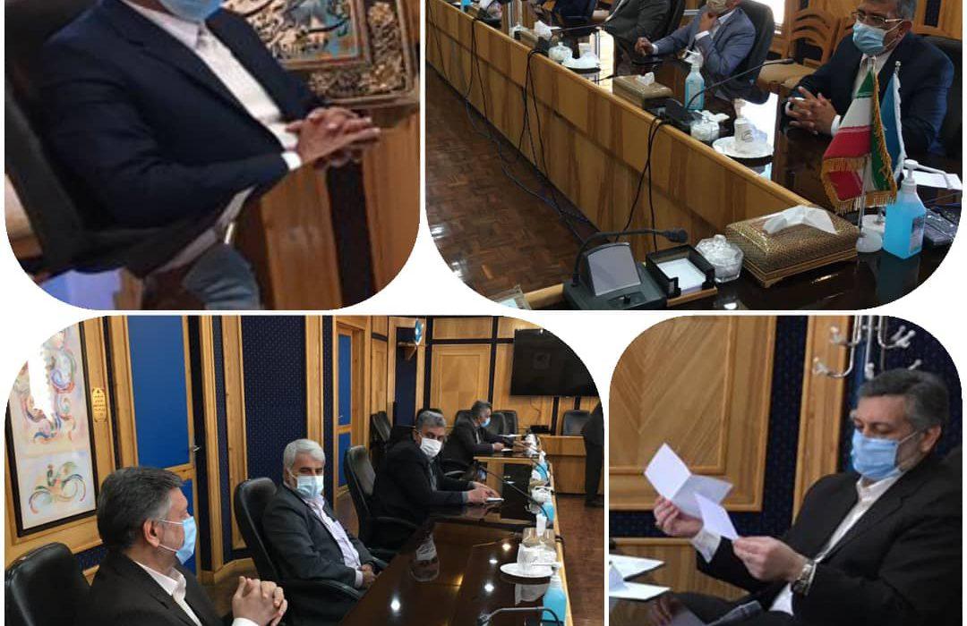 دیدار فرماندار ویژه داراب با مدیر کل صدا و سیمای استان فارس
