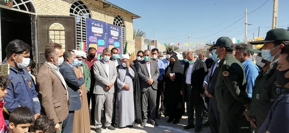 در هفتمین روز از دهه فجر، افتتاح سالن ورزشی پاسخن، کلنگ زنی گازرسانی به ۱۰ روستای مجموعه فسارود و تلبارگاه کوهستان بخش رستاق انجام شد